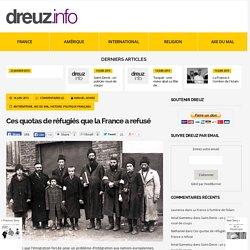 La France envisage de reconduire à ses frontières dix mille juifs allemands qu'elle avait accueillis en 1933.
