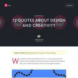 56 quotes about design and creativity