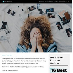 +327 COOL Quotes for Instagram Bio (2021) - to actually stand out