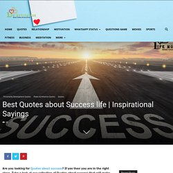 Best Quotes about Success For your life
