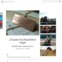 23 Quotes You Should Never Forget