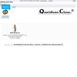 Il Quotidiano In Classe Rapporto Ocse-Pisa. Italia: completo disastro?