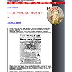 La struttura del giornale quotidiano, di Roberto Tartaglione - MATDID, italian for foreigners