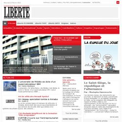 LIBERTE, QUOTIDIEN NATIONAL D'INFORMATION -