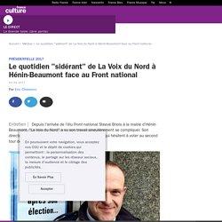 """Le quotidien """"sidérant"""" de La Voix du Nord à Hénin-Beaumont face au Front national"""