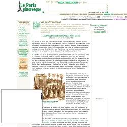 Paris vie quotidienne : les boulevards au XVIIIe siècle