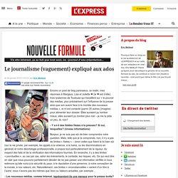 Pourquoi faire un blog sur la vie quotidienne de LEXPRESS.fr et sur celle de son rédacteur en chef - moi, Eric Mettout? Parce qu'après avoir décortiqué la genèse de la nouvelle formule du site, j'ai continué à n'avoir rien d'