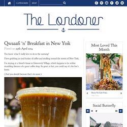 Qwaaafi 'n' Breakfast in New Yoik