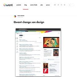 Qwant change son design