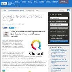Qwant et la concurrence de Google