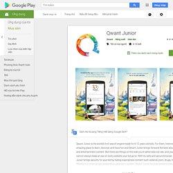 ♥ Qwant Junior – Applications sur GooglePlay