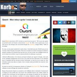 Qwant – Mon retour après 1 mois de test «