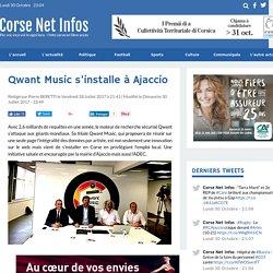 Qwant Music s'installe à Ajaccio