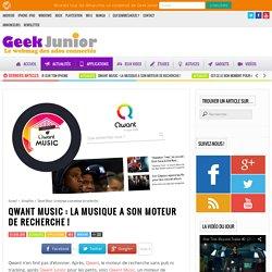 Qwant Music : la musique a son moteur de recherche