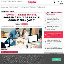 Qwant : l'Etat doit-il porter à bout de bras le Google français ?