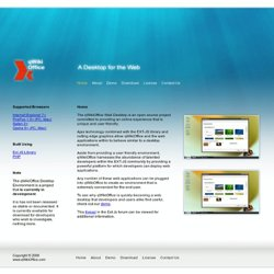 qWikiOffice A Web Based Desktop
