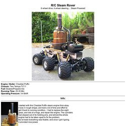 R/C Steam Rover