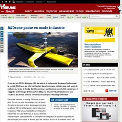 R&Drone passe en mode industrie