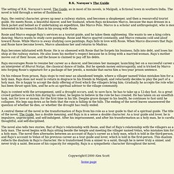 "R.K. Narayan""s Novels: The Guide"
