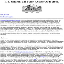 R. K. Narayan: The Guide
