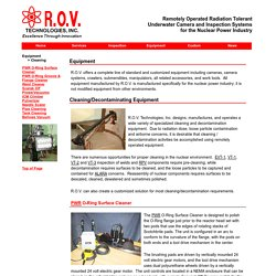 R.O.V. Technologies Inc. - Cleaning