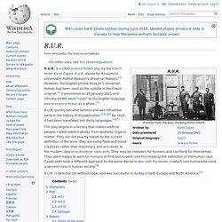R.U.R. - Wikipedia
