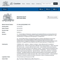 R v Wran - NSW Caselaw