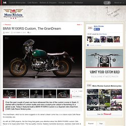 BMW R100RS Custom By C59R Cafe Racer Motorcycles Spain - Moto Rivista