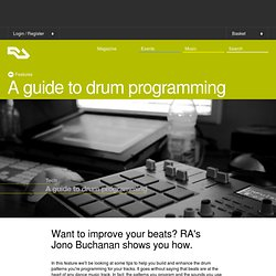 A guide to drum programming