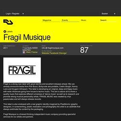 Fragil Musique - Maison de disque