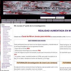 RA Junaio (1º parte de la investigación) - Wikirincóndeartesydibujo