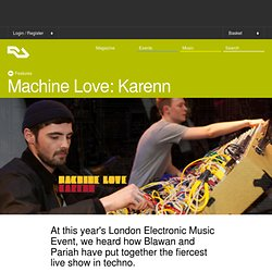 Machine Love: Karenn