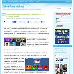 Anne Raaymakers In een handomdraai een omslagfoto ontwerpen voor je Facebook fanpage