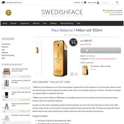 Paco Rabanne 1 Million edt 100ml - £59.49 - SwedishFace ♥ Skin Care