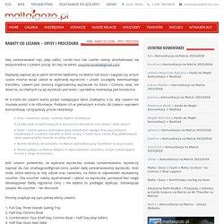 Rabaty od Leeann - Opisy i Procedura - MALTAIGOZO.PL