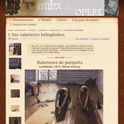 1 Des raboteurs héliophobes - - Parquets de Paris - ambiguïté