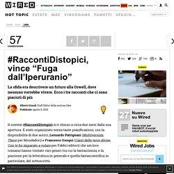 """#RaccontiDistopici, vince """"Fuga dall'Iperuranio"""""""