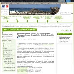 Adoption du Schéma Régional de Raccordement au Réseau des Énergies Renouvelables (S3REnR) de la région BRETAGNE