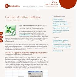 Raccourcis Excel : 7 astuces très pratiques
