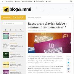 Raccourcis clavier Adobe : comment les mémoriser ?