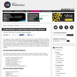 50 raccourcis clavier pour les réseaux sociaux