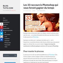Les 33 raccourcis Photoshop qui vous feront gagner du temps
