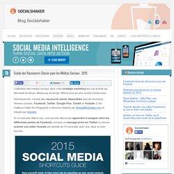 Guide des Raccourcis Clavier pour les Médias Sociaux – 2015