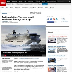 Race to sail Northwest Passage heats up
