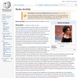 Racha Arodaky