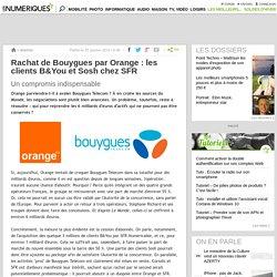 Rachat de Bouygues par Orange: les clients B&You et Sosh chez SFR