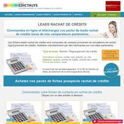 Leads Rachat Crédits : Achat de lead regoupement de crédits