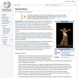 Rachel Brice