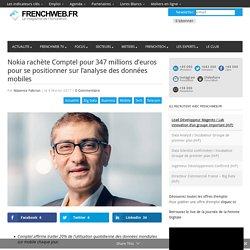 Nokia rachète Comptel pour 347 millions d'euros pour se positionner sur l'analyse des données mobiles