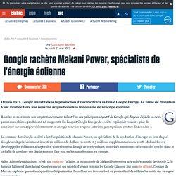 Google rachète Makani Power, spécialiste de l'énergie éolienne